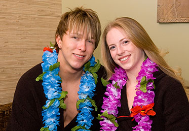 Couple in lounge of Scottsdale's Hawaiian Experience Spa