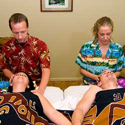 Romantic couples' massage in Phoenix, AZ day spa
