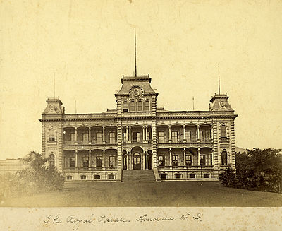 Iolani_Palace_in_1885