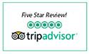 <span>, TRIPADVISOR - 5 Stars</span>